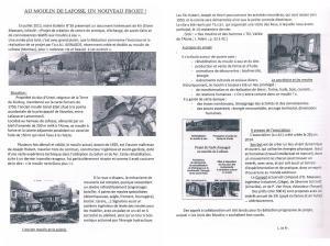 Article Les Amis des Moulins août 2014